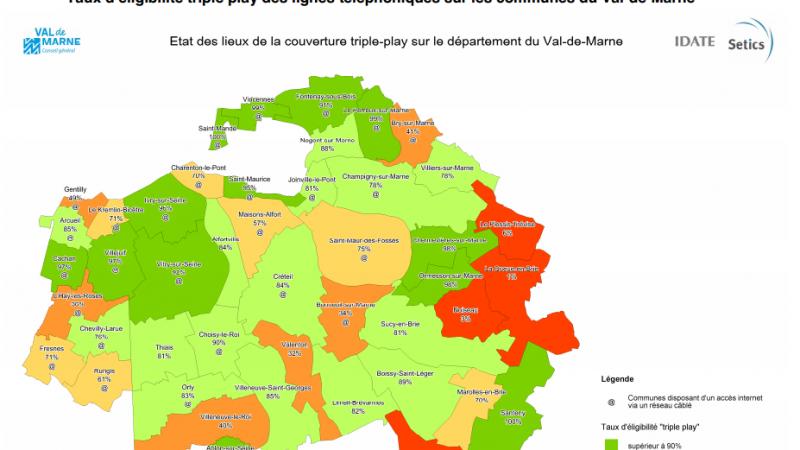 Val de Marne : Le plan de déploiement Très Haut Débit (SDTAN)