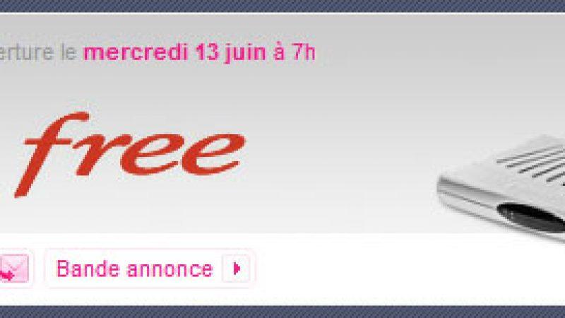 Free lance une nouvelle vente privée d'abonnements Freebox