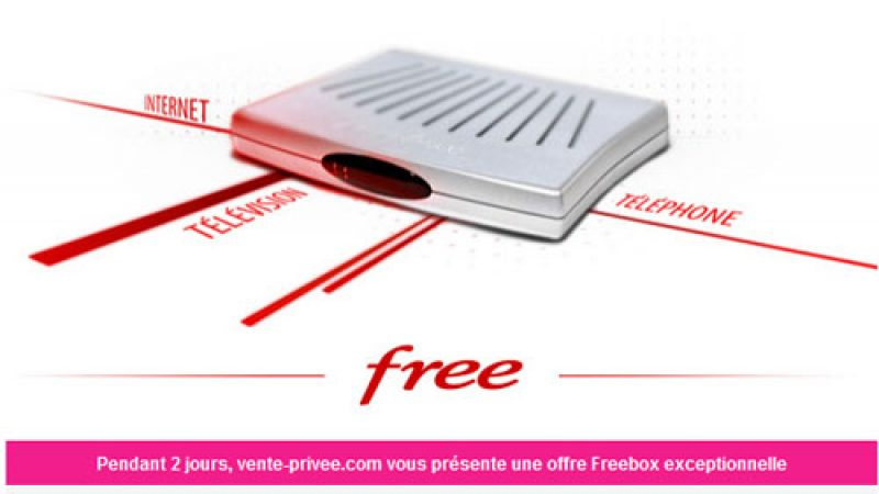Offre Free sur Vente Privée : Il s'agira de Freebox V5