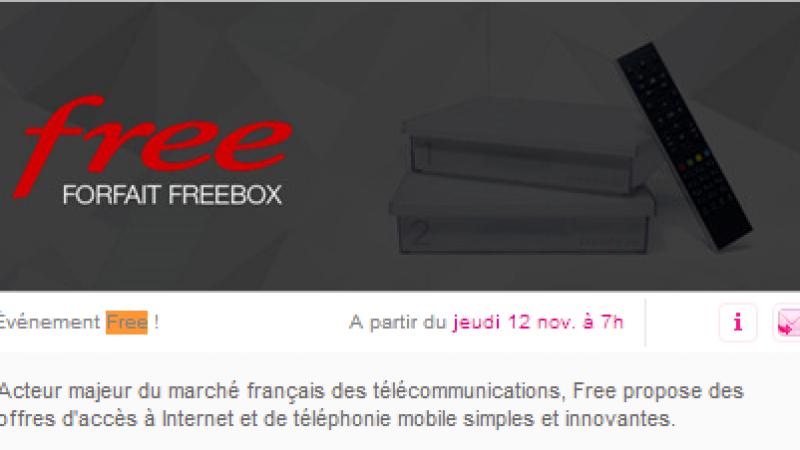 [MàJ : bug/démenti ] Free va proposer une nouvelle Vente Privée dès cette semaine