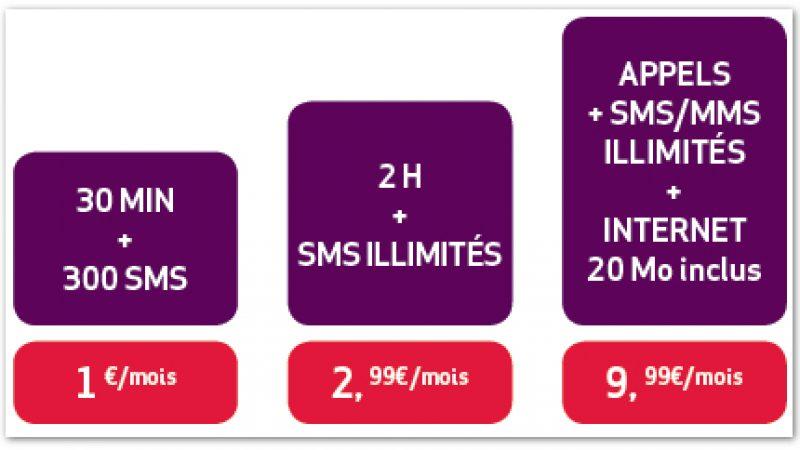 [MàJ] Virgin Mobile : 2h d'appels et les SMS en illimité pour 2,99 euros par mois