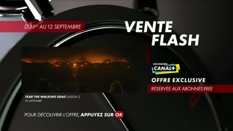 Canal+ lance une vente flash « réservée aux abonnés Free »