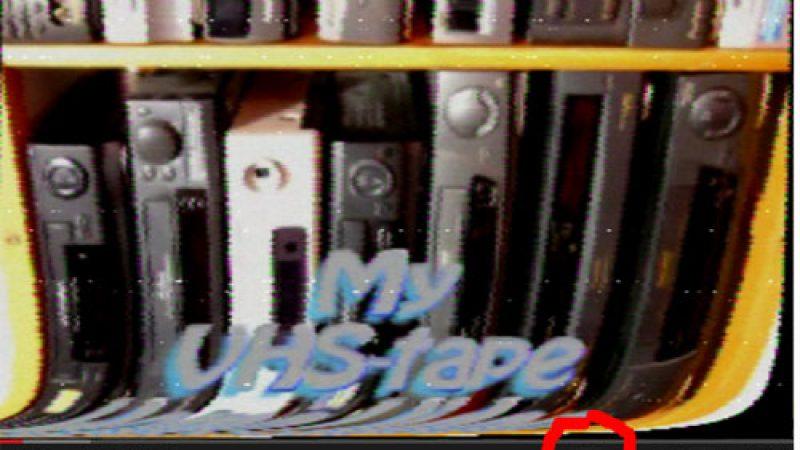 La VHS et sa qualité inoubliable fait son retour sur YouTube !