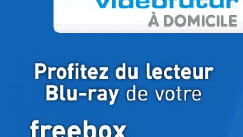 Clin d'œil : Quand Vidéo Futur utilise la Freebox Révolution sur ses publicités