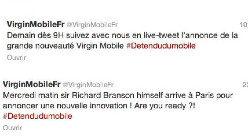 """Virgin Mobile annoncera une """"grande nouveauté"""" demain : nous vous révélons laquelle"""