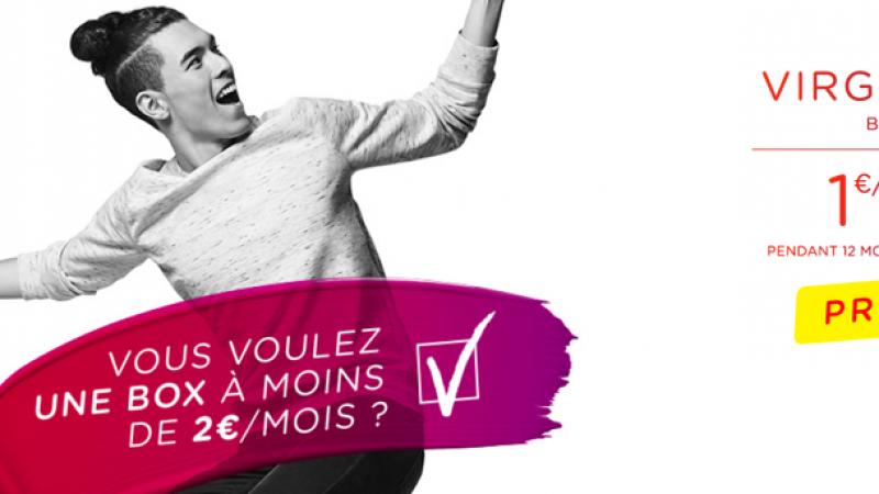 Comme Free, Virgin Mobile propose une offre Box ADSL à 1.99€/mois