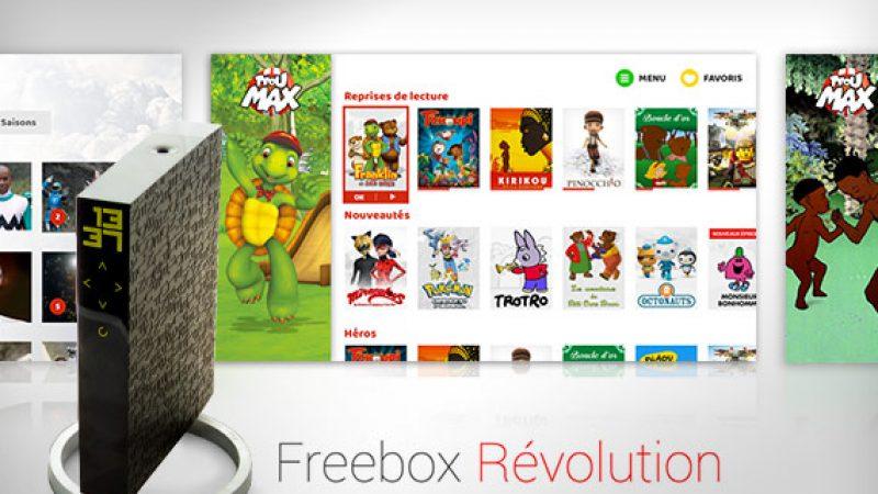 Free annonce que le tarif du service TFOU MAX va augmenter à partir de fin avril