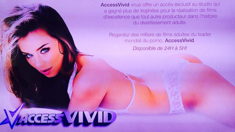 """La Freebox accueille AccessVivid, le """"leader mondial du X"""""""
