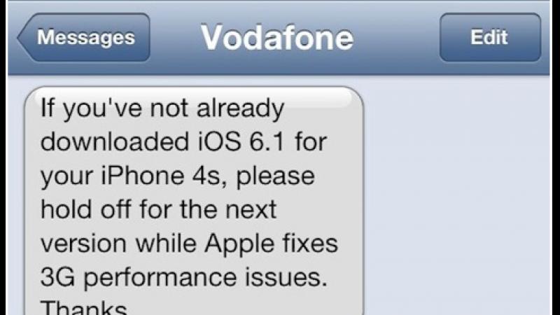 Free Mobile : La 3G dans les choux avec votre iPhone 4S ? La faute à iOS 6.1