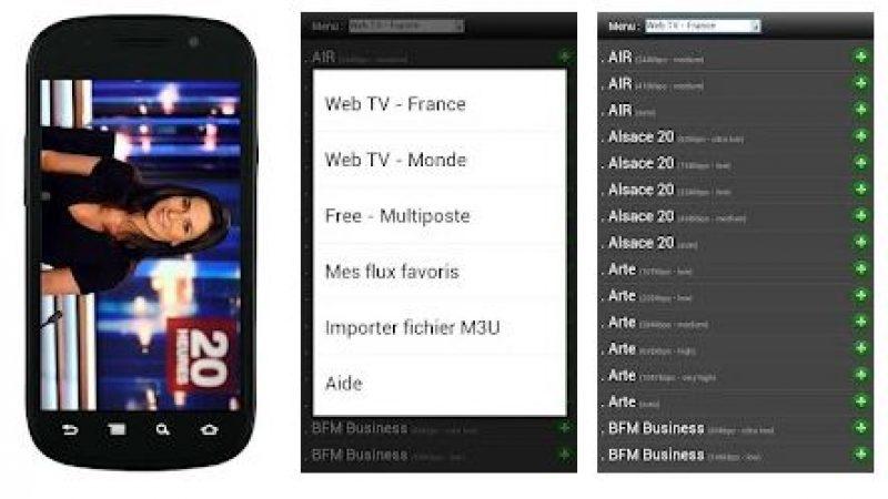 Vodobox vous permet de regarder les chaines TV en direct sous Android