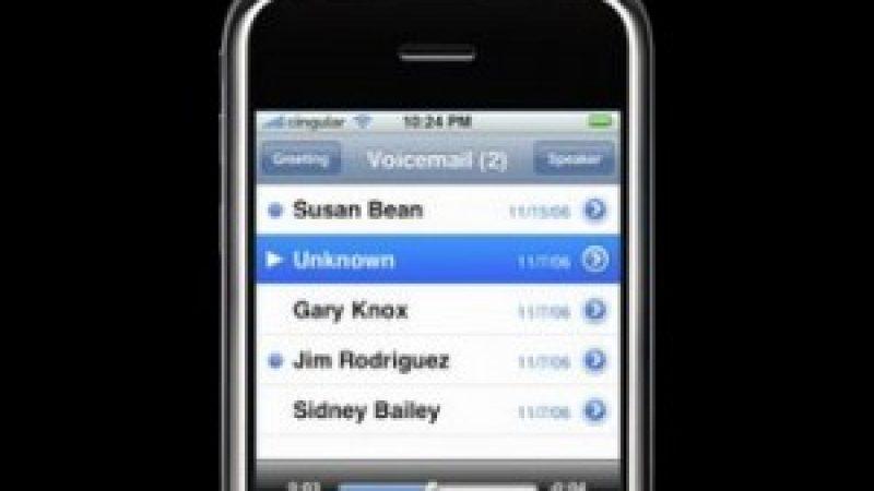 Free : La messagerie vocale visuelle sur le point d'être activée