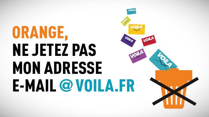 Fin de la messagerie Voila.FR : silence complet du côté d'Orange