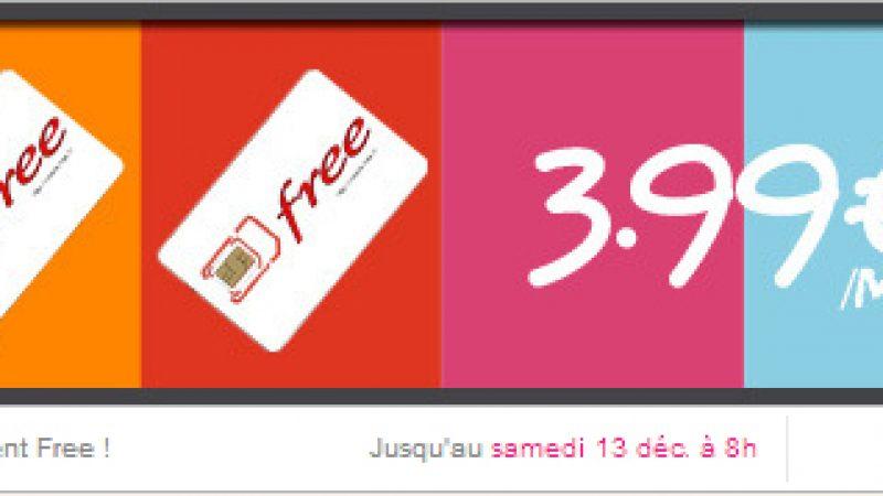 Free Mobile prolonge son offre sur Vente Privée