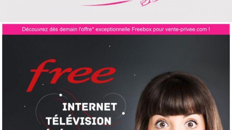 Vente privée Free : il s'agira bien d'une offre Freebox