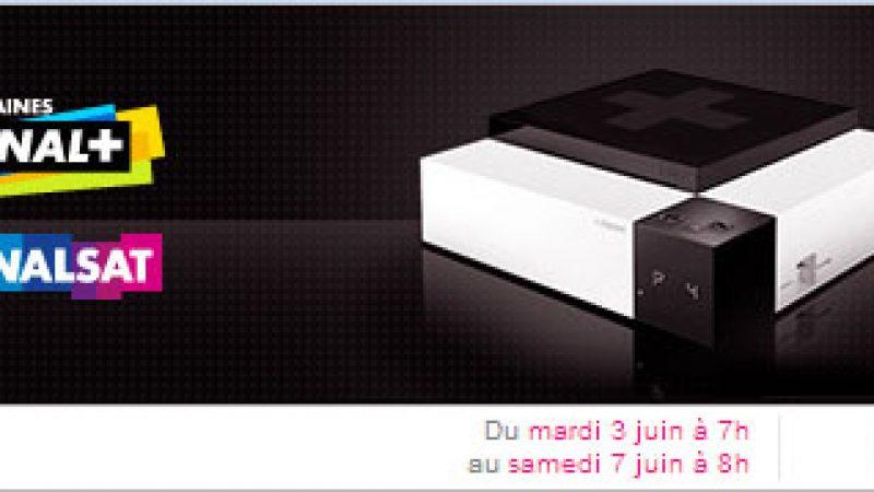 Canal+/Canalsat : lancement mardi d'une offre sur vente-privée