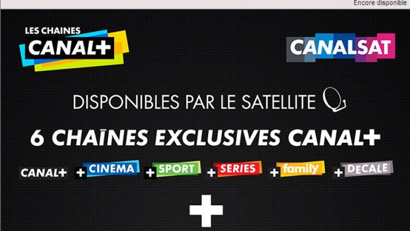 Vente-Privée : Canal+ et Canalsat cassent les prix, mais pas sur l'ADSL
