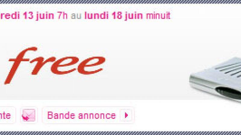 L'opération Freebox à 1,99€/mois prolongée jusque lundi minuit