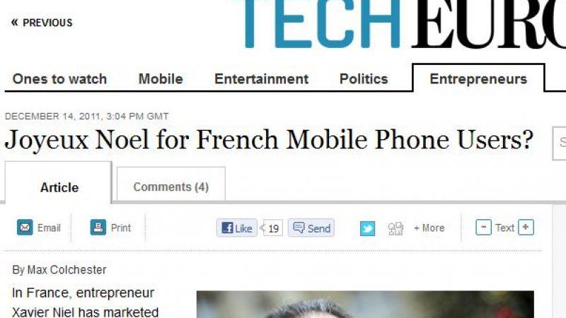Free Mobile s'invite dans les colonnes du Wall Street Journal