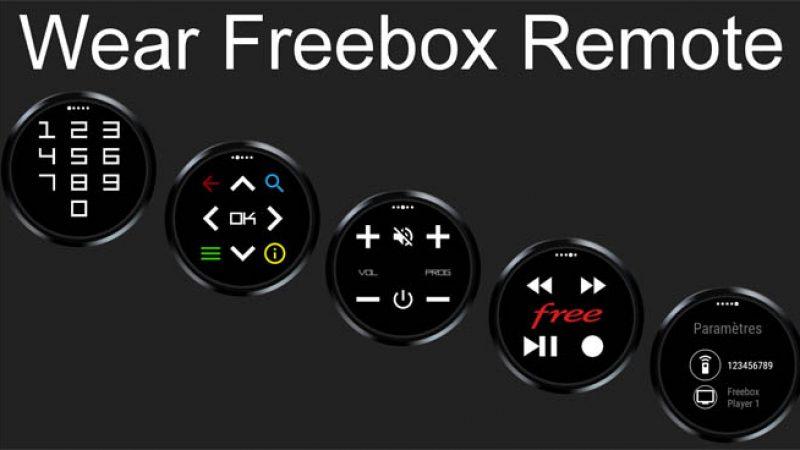 Wear Freebox Remote : Contrôlez votre Freebox au doigt et à la montre