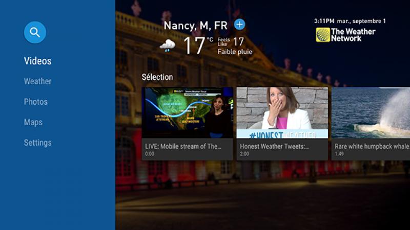 Surveillez la météo en direct sur votre Freebox Mini 4K