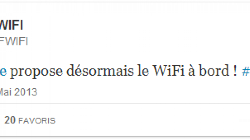 Air France commence à commercialiser le Wifi long courrier