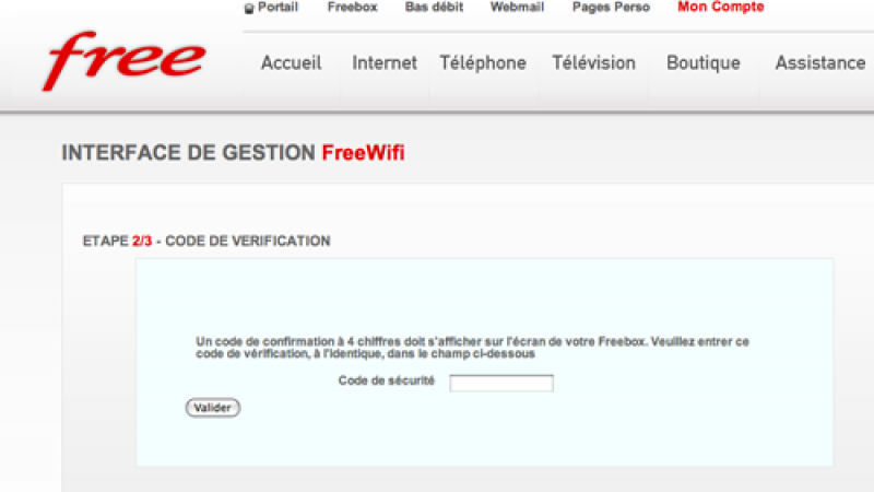 comment trouver mes codes free wifi