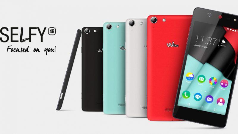 Wiko Selfy 4G : un smartphone équipé d'une caméra frontale de 8MP avec Flash