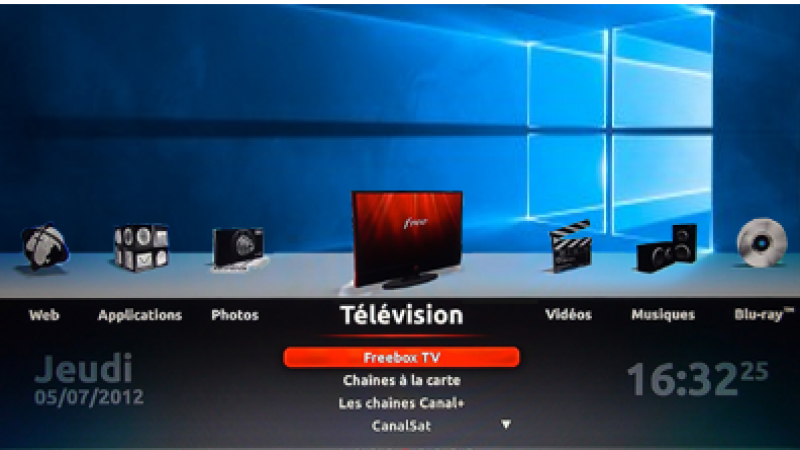 Une nouvelle série de fonds d'écran compatibles avec le nouveau firmware Freebox Révolution
