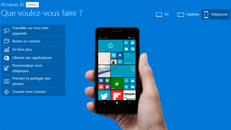 Windows 10 sera disponible « fin 2015 » sur les smartphones Lumia