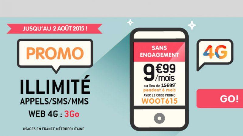 NRJ Mobile : De l'illimité et 3 Go de data pour 9.99 euros par mois… pendant 6 mois