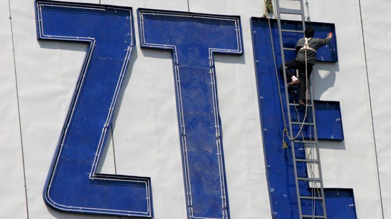 ZTE annonce arrêter ses opérations commerciales, dont la vente de smartphones