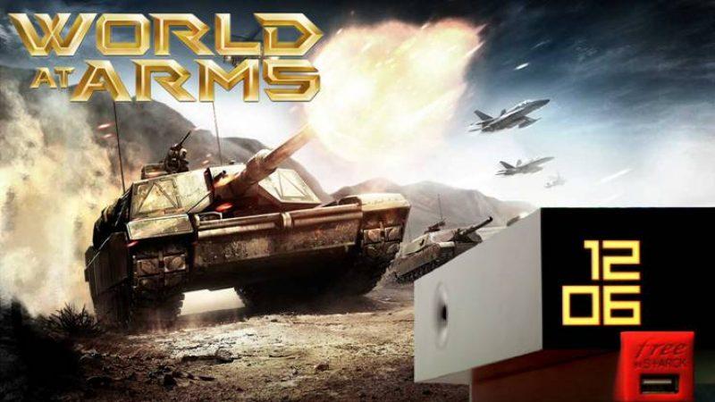 """Freebox Révolution : Gameloft lance """"World at arms"""" en téléchargement gratuit"""