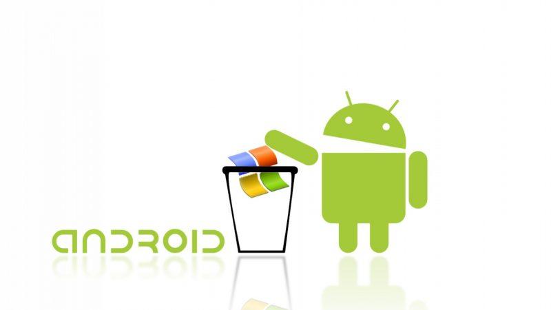 Android met fin au règne de Windows et devient l'OS le plus utilisé sur internet
