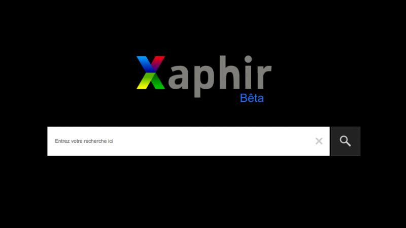 Xaphir, un moteur de recherche français qui veut se mesurer à Google