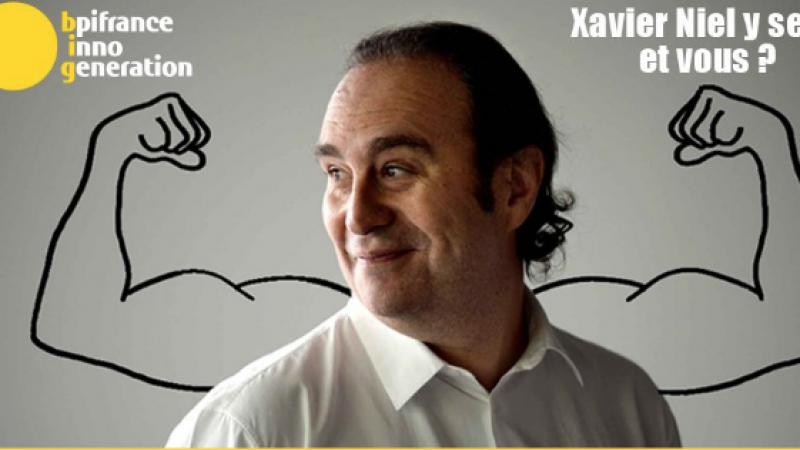 """Xavier Niel et Stéphane Richard à la rencontre de 40 000 entrepreneurs lors de la 4ème édition du """"Bpifrance Inno Génération"""""""