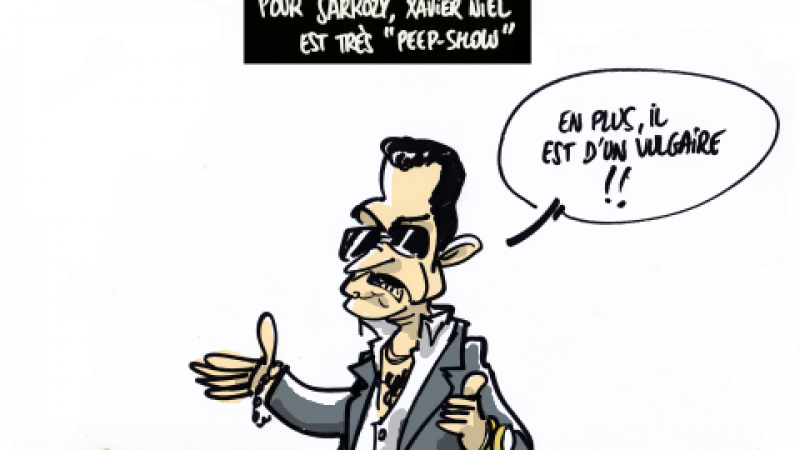 Clin d'œil : Xavier Niel vu par Nicolas Sarkozy
