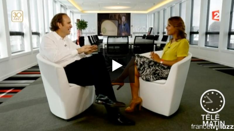 Découvrez l'interview de Xavier Niel dans TéléMatin et le bonus de Norman