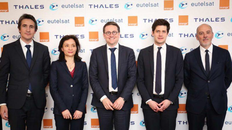 Très haut débit : Orange scelle un accord d'ampleur avec Eutelsat et Thales afin de désenclaver les régions isolées