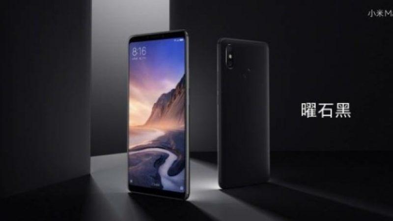 Xiaomi lance son Mi Max 3 doté d'un écran imposant ainsi que d'une batterie hors-norme