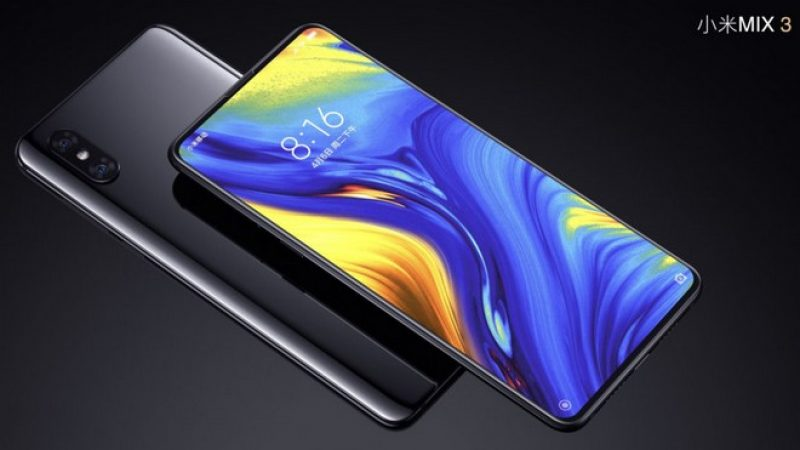 Xiaomi Mi Mix 3 : le smartphone coulissant arrive en France