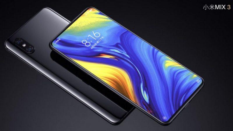 Xiaomi : Le Mi Mix 3 5G pourrait être présenté le mois prochain