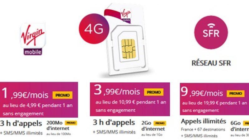 Virgin Mobile lance aussi ses promos de noël à partir de 1,99 €