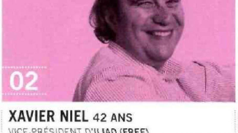 Xavier Niel classé 2ème homme le plus influent dans la catégorie nouveaux medias