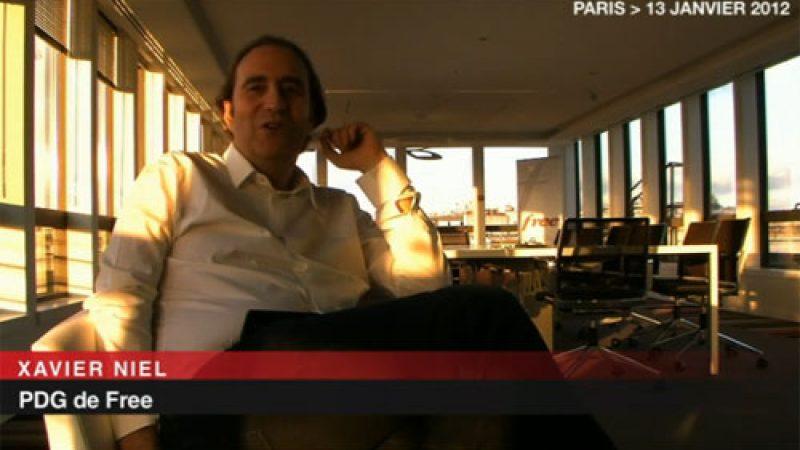 Xavier Niel réagit suite au lancement de nouvelles offres mobile chez ses concurrents