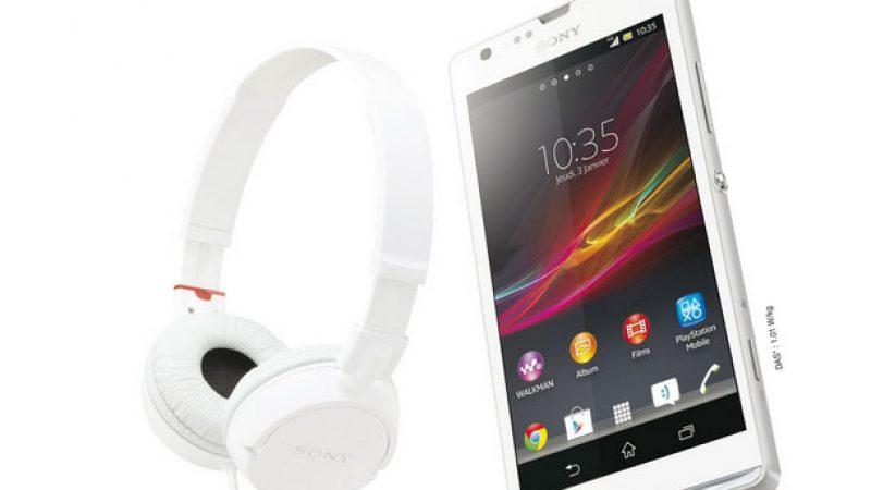 Free Mobile : L'offre Xperia SP avec casque offert prolongée jusqu'au 30 septembre