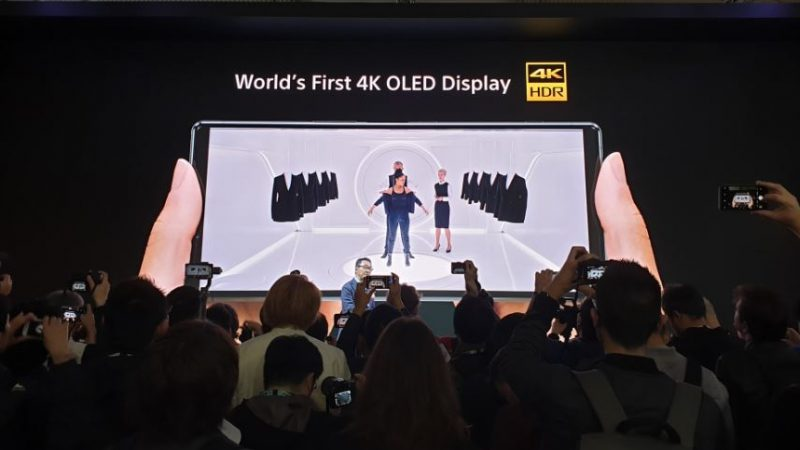 Sony dévoile son nouveau modèle, avec un écran 4K et un format spécial cinéma