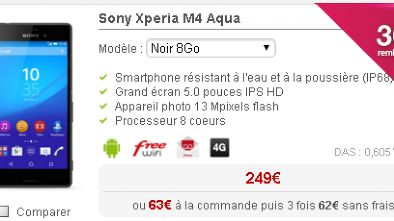 Free Mobile : un smartphone fait son retour, avec une offre de réduction