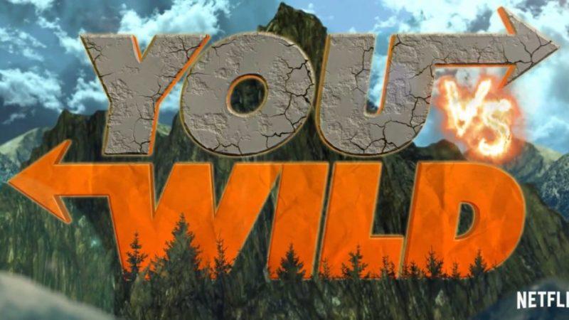 """Netflix : partez à l'aventure avec Bear Grylls dans la nouvelle série interactive """"You vs. Wild"""""""