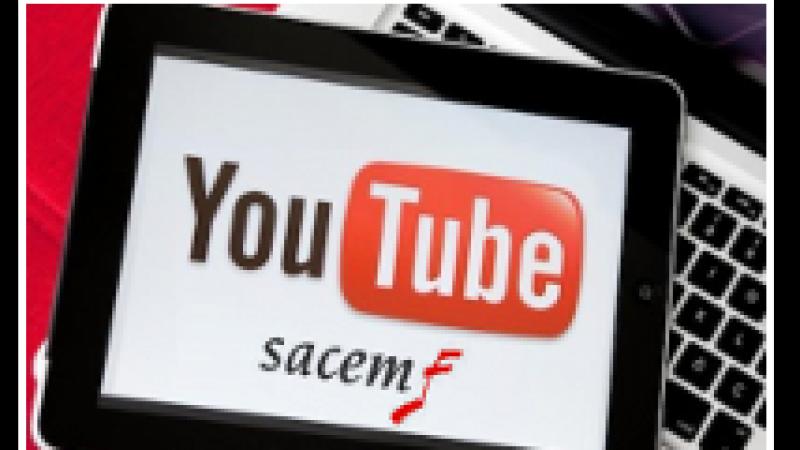Youtube et la SACEM signent un nouvel accord