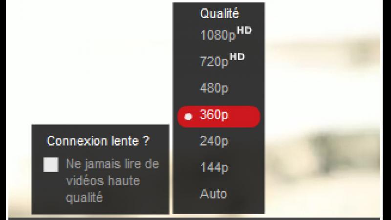Youtube lance un nouveau format vidéo en très basse qualité (144p)